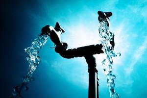 save water blocked drains